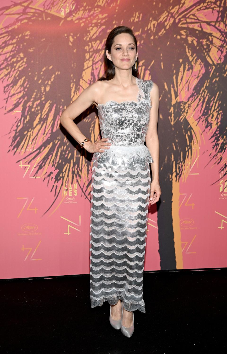 Marion Cotillard in Chanel (Getty Images)
