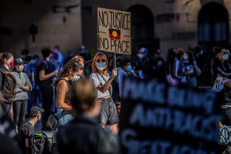 Thousands rally across Australia in Black Lives Matter protests