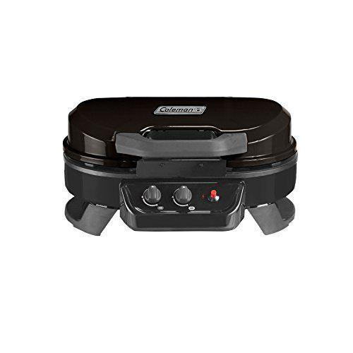 """<p><strong>Coleman</strong></p><p>amazon.com</p><p><strong>$179.99</strong></p><p><a href=""""https://www.amazon.com/dp/B07BLHCHX6?tag=syn-yahoo-20&ascsubtag=%5Bartid%7C1782.g.36422297%5Bsrc%7Cyahoo-us"""" rel=""""nofollow noopener"""" target=""""_blank"""" data-ylk=""""slk:BUY NOW"""" class=""""link rapid-noclick-resp"""">BUY NOW</a></p><p>The most portable of them all, this Coleman Gas Grill is small enough to be safe to use on a tabletop, at a picnic, or for any other occasion that calls for grilling on the go. Don't let the size fool you; there are still adjustable temperature nobs and two different burners. </p>"""