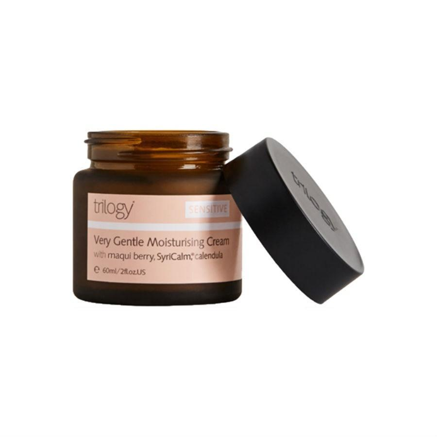 """<p>The all-natural Trilogy Very Gentle Moisturizing Cream is packaged in a recyclable jar in addition to not being tested on animals. Those are a couple of reasons why it won a <a href=""""https://www.allure.com/story/best-of-beauty-2019-winners?mbid=synd_yahoo_rss"""" rel=""""nofollow noopener"""" target=""""_blank"""" data-ylk=""""slk:2019 Allure Best of Beauty Award"""" class=""""link rapid-noclick-resp"""">2019 <em>Allure</em> Best of Beauty Award</a>, but it's the deeply hydrating, soothing ingredients that truly brought us onboard: evening primrose oil, marshmallow root extract, green tea leaf extract, and sweet almond oil. You decide if this is a moisturizer or a dessert.</p> <p><strong>$50</strong> (<a href=""""https://shop-links.co/1683931673340620216"""" rel=""""nofollow noopener"""" target=""""_blank"""" data-ylk=""""slk:Shop Now"""" class=""""link rapid-noclick-resp"""">Shop Now</a>)</p>"""