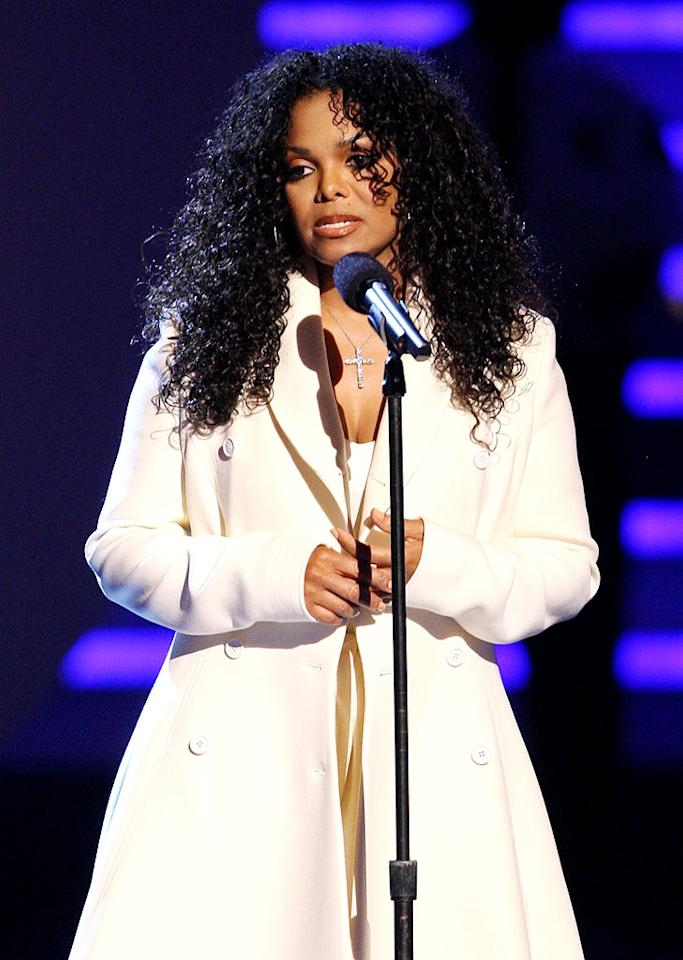 """Of course, the world continued to mourn the loss of Michael Jackson this week. The BET Awards show was quickly transformed into a tribute to the late King of Pop, and Michael's sister Janet took the stage to thank fans for their support. John Shearer/<a href=""""http://www.wireimage.com"""" target=""""new"""">WireImage.com</a> - June 28, 2009"""