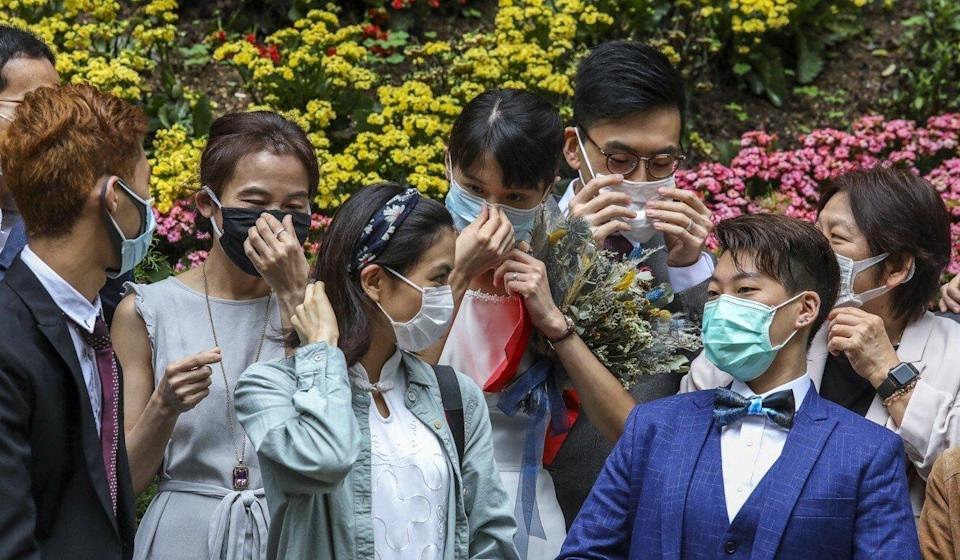 Consumers do not normally have the power to unilaterally change terms of a contract signed with a wedding service provider, warns the consumer watchdog. Photo: Nora Tam
