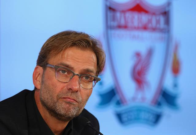 Jurgen Klopp was appointed Liverpool manager in October 2015.