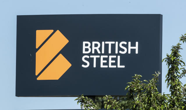 British Steel's main plant is in Scunthorpe and Teesside, where it employs an estimated 4,000 people. Photo: PA