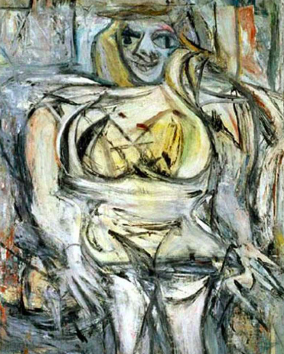 <p>11. Woman III, Willem de Kooning (1953). Sold for: £112m. American billionaire Steven A. Cohen bought the de Kooning classic in 2006 – making it the fourth most expensive painting sold at the time. (Pic: Wiki Commons) </p>