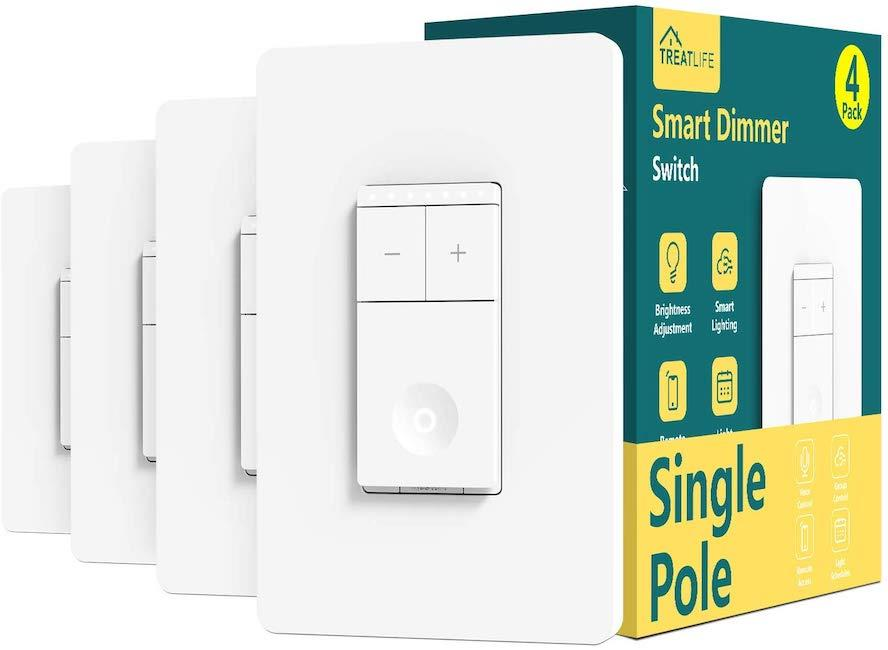 Treatlife Smart Dimmer Switch. (Photo: Amazon)