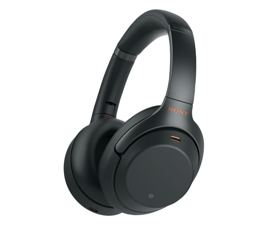 Sony Over-Ear Noise Cancelling Headphones. Image via Best Buy.