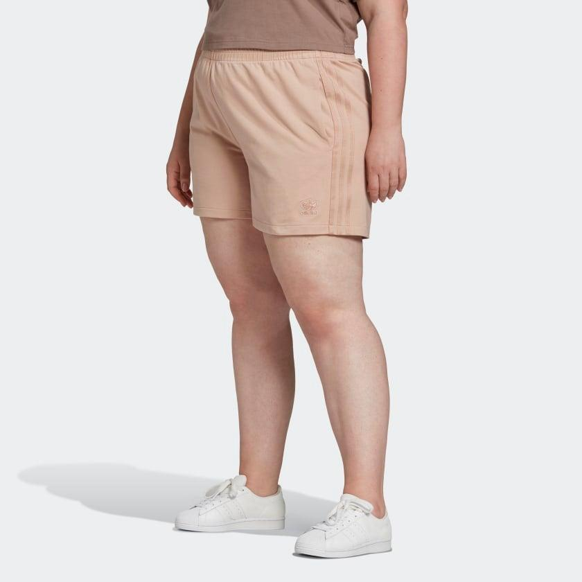 """<br> <br> <strong>Adidas</strong> French Terry Fabric Shorts, $, available at <a href=""""https://go.skimresources.com/?id=30283X879131&url=https%3A%2F%2Fwww.adidas.com%2Fus%2Fshorts-plus-size%2FGM6682.html"""" rel=""""nofollow noopener"""" target=""""_blank"""" data-ylk=""""slk:Adidas"""" class=""""link rapid-noclick-resp"""">Adidas</a>"""