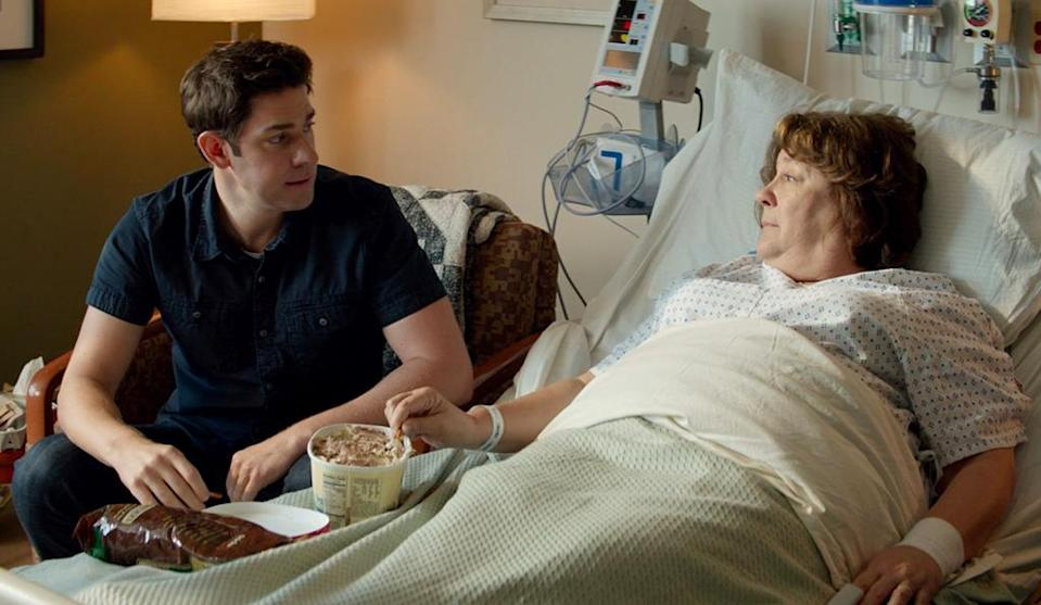 <p>Martindale proves yet again to be one of cinema's (and TV's) best character actresses — displaying equal measures of charisma and heart — as a mother coping with a brain-tumor diagnosis in John Krasinski's dysfunctional-family dramedy. (Photo: Sony Pictures Classics) </p>