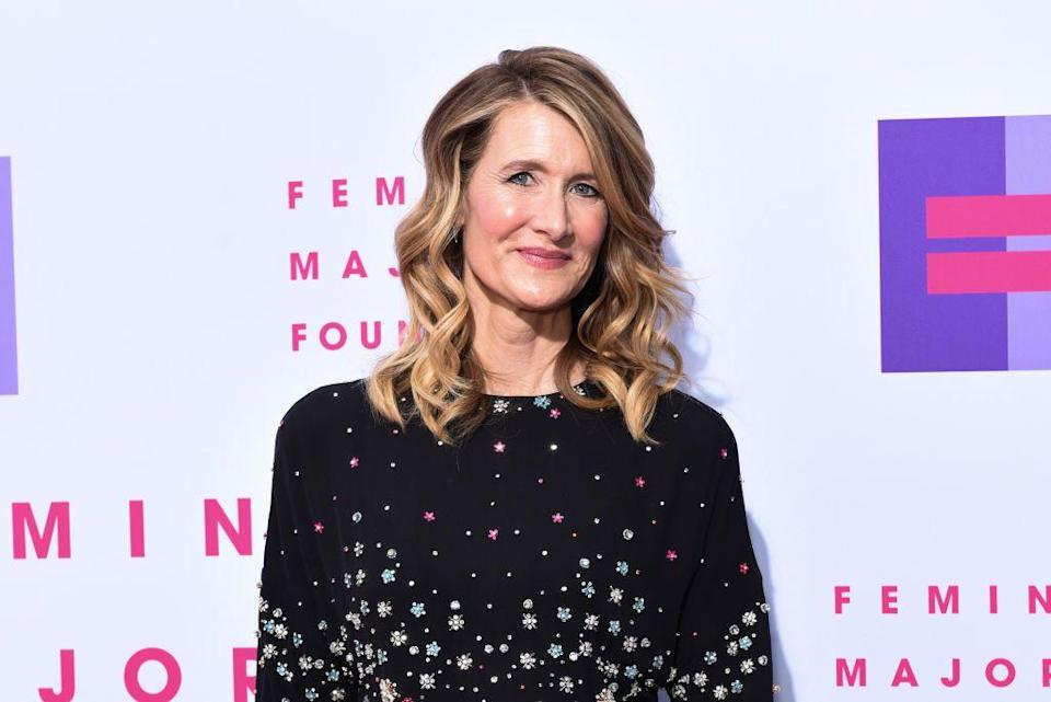 Laura Dern is speaking up on Equal Pay Day 2019. (Photo: Presley Ann/Getty Images)