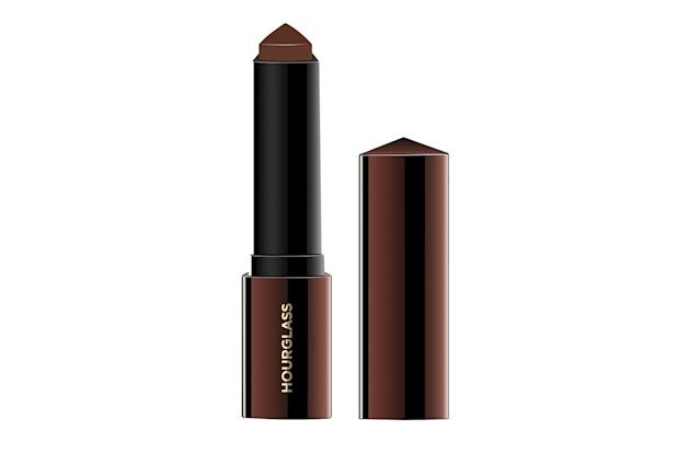 """<p>Radiant skin is just a swipe away, now that <a href=""""https://www.sephora.com/product/vanish-seamless-finish-foundation-stick-P410532?skuId=2027720&icid2=products%20grid:p410532"""" rel=""""nofollow noopener"""" target=""""_blank"""" data-ylk=""""slk:Hourglass"""" class=""""link rapid-noclick-resp""""><span>Hourglass</span></a> has expanded its foundation stick line to 32 shades, ranging from Blanc to Espresso. The highly pigmented foundation stick, which has a triangular bullet, can work as a contour or concealer if you and your partner share similar skin tones; if you're both using it, the usage rate will justify the high price point. ($46, <a href=""""https://www.sephora.com/"""" rel=""""nofollow noopener"""" target=""""_blank"""" data-ylk=""""slk:sephora.com"""" class=""""link rapid-noclick-resp""""><span>sephora.com</span></a>) (Photo: Hourglass) </p>"""