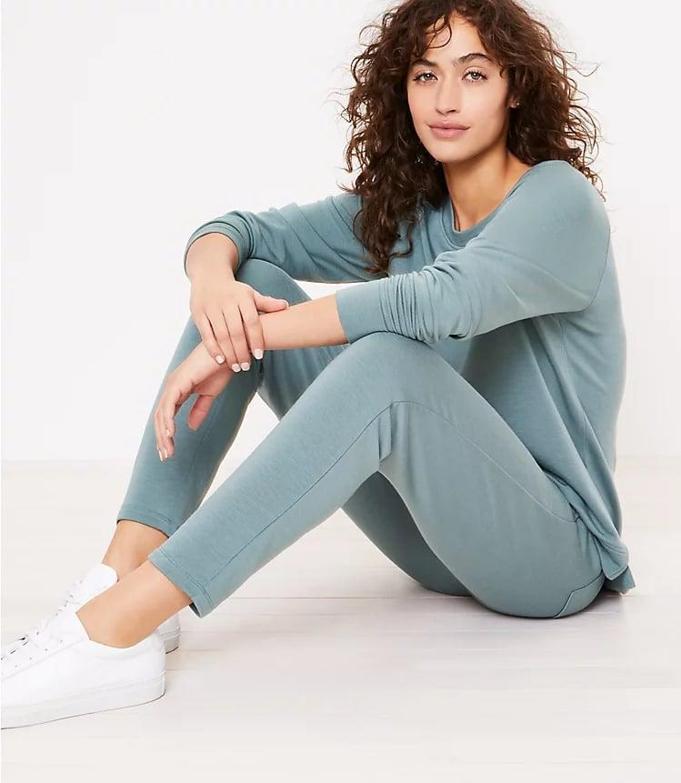 <p>These bestselling <span>Lou &amp; Grey Signature Softblend Sweatpants</span> ($70) are a customer favorite.</p>