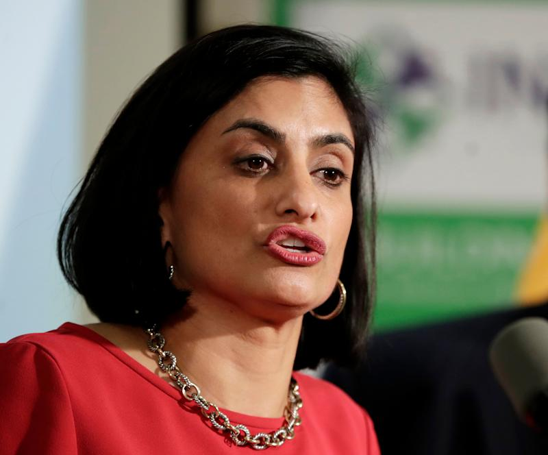 Seema Verma, the Trump administration official in charge of Medicaid, says work requirements will improve self-sufficiency. The evidence doesn't back that up. (Photo: Julio Cortez/ASSOCIATED PRESS)