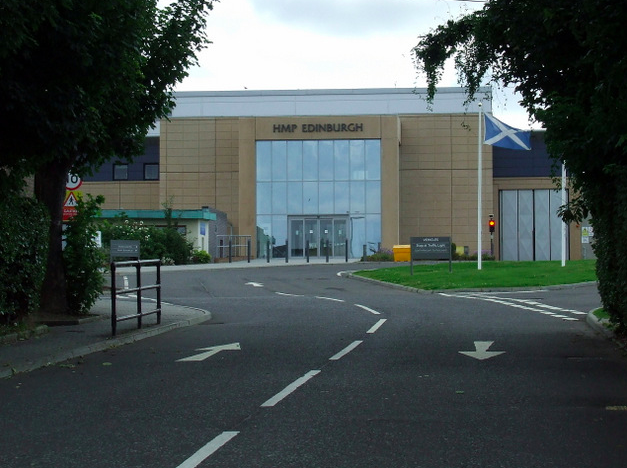 Coutts was previously moved to the Scottish prison for six weeks (Geograph)