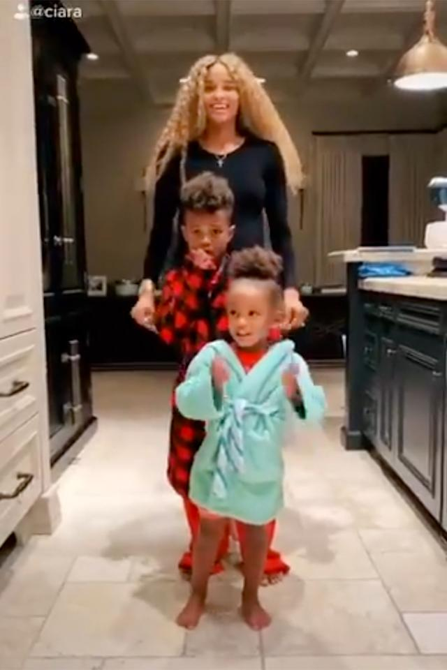 """<p>The family also spent some time <a href=""""https://people.com/parents/ciara-and-her-baby-boy-future-5%c2%bd-tackle-hit-yo-groove-tiktok-challenge-together/"""">making TikToks together</a>, showing off their absolutely adorable dance moves.</p>"""