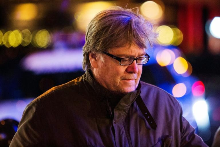 Steve Bannon, shown here in New York in December 2016, was once seen as the mastermind behind Donald Trump's improbable rise to power. Now, he is out of a job