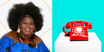 """<p>Before she landed her career-making role in the movie <em>Precious</em>, Gabourey worked as an operator on a phone-sex line for three years. """"I was actually pretty good at it,"""" she told <em><a href=""""http://people.com/celebrity/gabourey-sidibe-worked-phone-sex-company/"""" rel=""""nofollow noopener"""" target=""""_blank"""" data-ylk=""""slk:People"""" class=""""link rapid-noclick-resp"""">People</a> </em>in 2017. """"I did it for two months before I was promoted.""""</p>"""