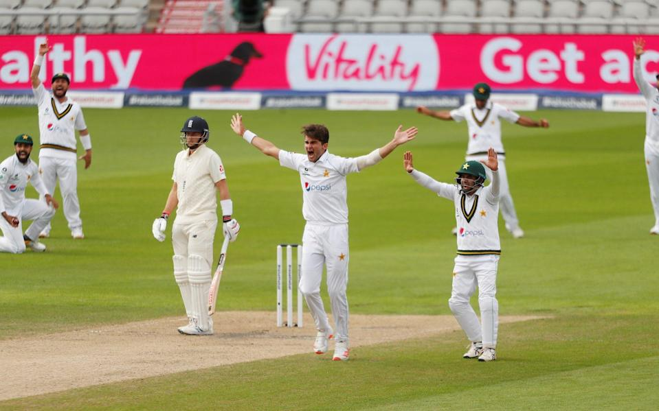 England vs Pakistan, first Test day two: live score and latest updates - REUTERS