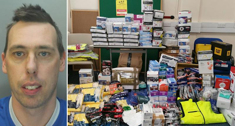 Gary Edwards was jailed for stealing £30,000 worth of PPE (Reach)