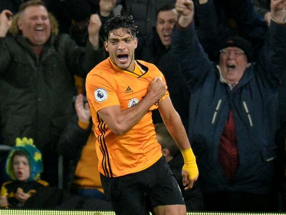 Raul Jimenez is in fine form for Wolves (EPA)