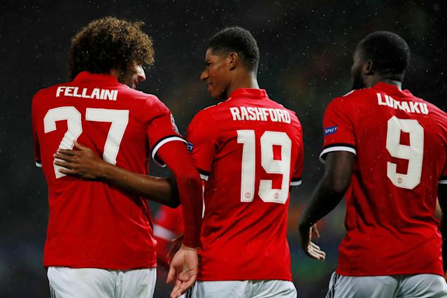 Marcus Rashford is central to Man United's plans for the future