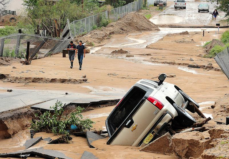New Mexico marks year of weather extremes