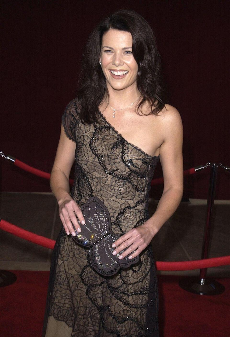 <p>In 1996, Lauren Graham snagged her first role in television in a guest spot on <em>3rd Rock from the Sun, </em>but she didn't hit her stride as an actress until she played the fast-talking, coffee-crazed single mother, Lorelai Gilmore. </p>