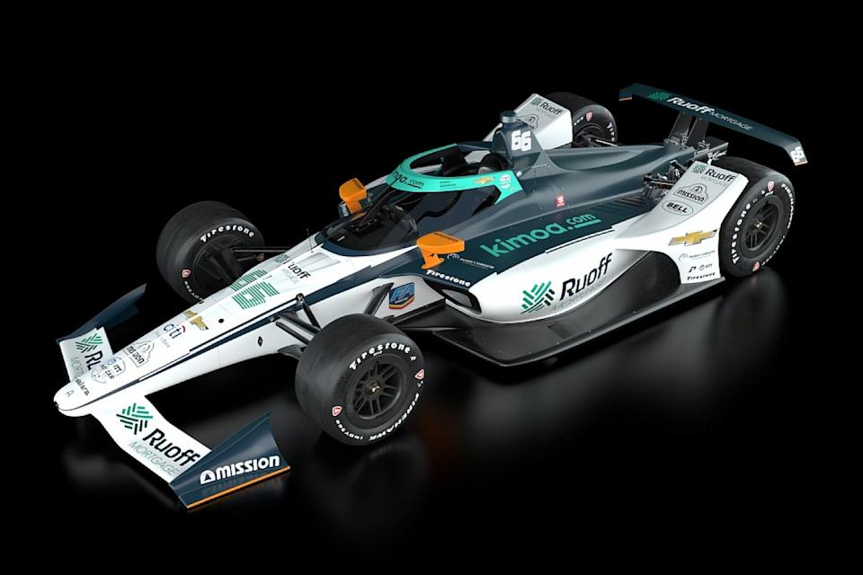 Alonso reveals livery for Indianapolis 500 return