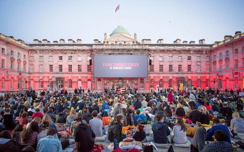 A screening at Somerset House - Credit: LIFE AFTER PRINT LTD.