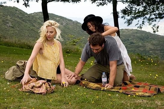 """<em><strong>Vicky Cristina Barcelona</strong></em> (2008)<br> The artist-and-his-muse archetype gets revamped in this Woody Allen flick. The Spanish setting is romantic enough, but all bets (and clothing items) are off when you add in the allure of the painter, his colorful past lover, and the promise of a new one.<br><br>Streaming: <a href=""""http://www.amazon.com/Vicky-Cristina-Barcelona-Rebecca-Hall/dp/B001SKB1Y0/ref=sr_1_1?s=movies-tv&ie=UTF8&qid=1423511060&sr=1-1&keywords=vicky+cristina+barcelona"""" rel=""""nofollow noopener"""" target=""""_blank"""" data-ylk=""""slk:Amazon"""" class=""""link rapid-noclick-resp"""">Amazon</a><span class=""""copyright"""">Photo: Courtesy of Metro-Goldwyn-Mayer.</span>"""