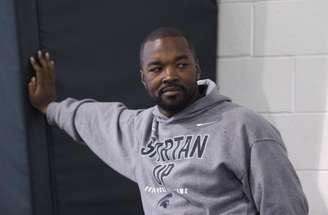 Curtis Blackwell was hired by Michigan State in 2013. (AP Photo/Al Goldis)