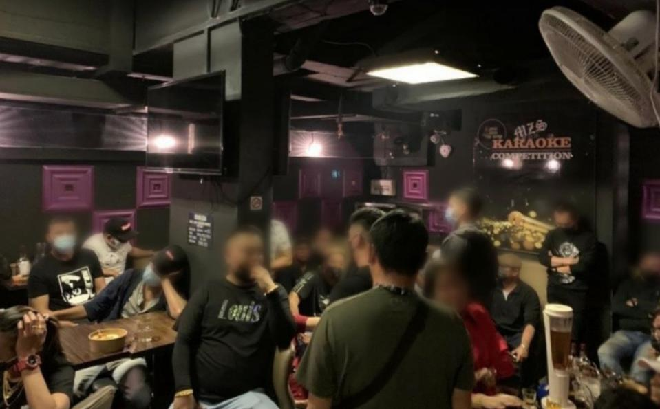 MZS Karaoke at Ming Arcade had allowed patrons to consume alcohol after 10.30pm on Christmas Day.