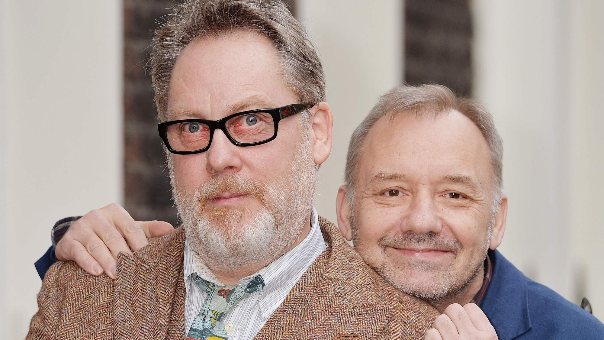 Vic Reeves and Bob Mortimer were threatened at gunpoint during California trip
