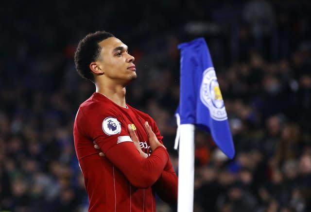 Liverpool showed little jet lag from their Club World Cup victory in Qatar with a ruthless 4-0 demolition of Leicester to extend their advantage at the top of the table to 13 points. Trent Alexander-Arnold capped a superb Boxing Day performance with the final goal at the King Power Stadium (Tim Goode/PA)