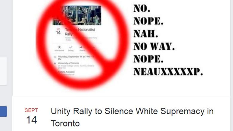 Thousands promise to come out and protest against Canadian Nationalist Party rally