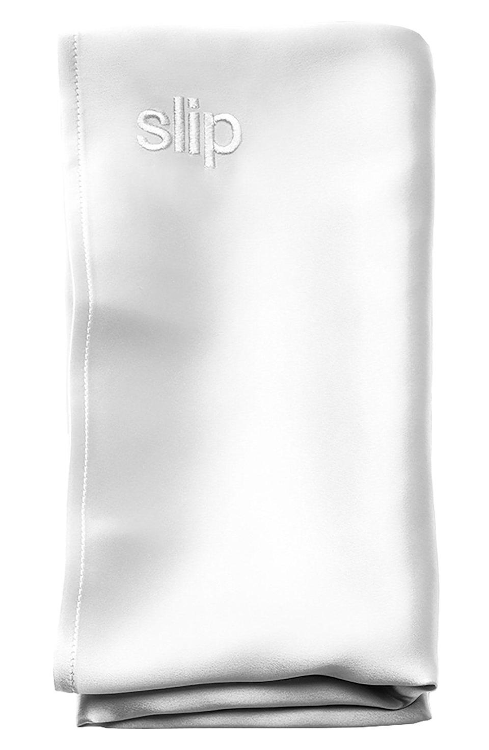 """<p><strong>SLIP FOR BEAUTY SLEEP</strong></p><p>nordstrom.com</p><p><strong>$105.00</strong></p><p><a href=""""https://go.redirectingat.com?id=74968X1596630&url=https%3A%2F%2Fwww.nordstrom.com%2Fs%2Fslip-pure-silk-pillowcase%2F4186794&sref=https%3A%2F%2Fwww.cosmopolitan.com%2Fstyle-beauty%2Fbeauty%2Fg4577%2Fvalentines-day-gifts-to-give-yourself%2F"""" rel=""""nofollow noopener"""" target=""""_blank"""" data-ylk=""""slk:Shop Now"""" class=""""link rapid-noclick-resp"""">Shop Now</a></p><p>If you know all about the <a href=""""https://www.cosmopolitan.com/style-beauty/beauty/how-to/a55271/best-silk-satin-pillowcases/"""" rel=""""nofollow noopener"""" target=""""_blank"""" data-ylk=""""slk:benefits of sleeping on a silk pillowcase"""" class=""""link rapid-noclick-resp"""">benefits of sleeping on a silk pillowcase</a> (<strong>um, smoother, shinier, less-damaged hair</strong>) but haven't made the purchase yet, what better time to do so than now? Waking up with soft, knot-free hair is worth the price. Trust.</p>"""