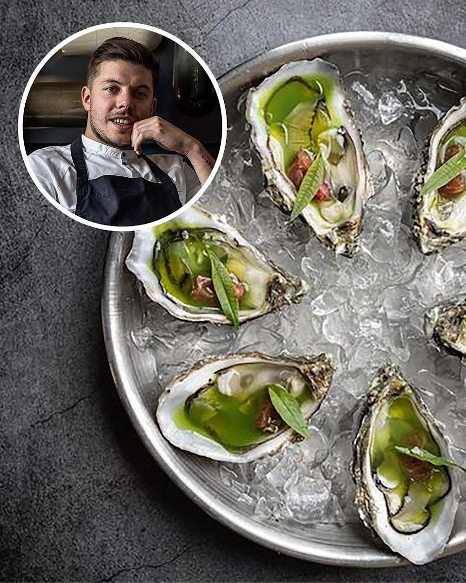 """<p>Mattias Marc (pictured) of the restaurant Substance just opened what is perhaps the most exciting new place in Paris: <a href=""""https://www.substance.paris"""" rel=""""nofollow noopener"""" target=""""_blank"""" data-ylk=""""slk:Liquide"""" class=""""link rapid-noclick-resp"""">Liquide</a>. Jarvis Scott, formerly at Arpége, helms the kitchen, producing bold, vibrant fare that may have its origins in France but clearly has a global pantry and a well-traveled team of cooks. Timut pepper gives pickled cucumbers an astringent sharpness, while elderberry blossoms perfume a plate of fresh peas, and wood sorrel enlivens the rice pudding. Liquide will, I believe, have the sort of culinary impact of Semilla, Septime, and the much-missed Spring, and this is the chance to try it before it is discovered. It is too new to have its own website, so try its older sibling for details.</p>"""