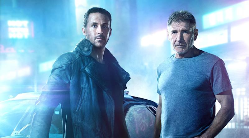"Ryan Gosling and Harrison Ford in ""Blade Runner 2049.'"