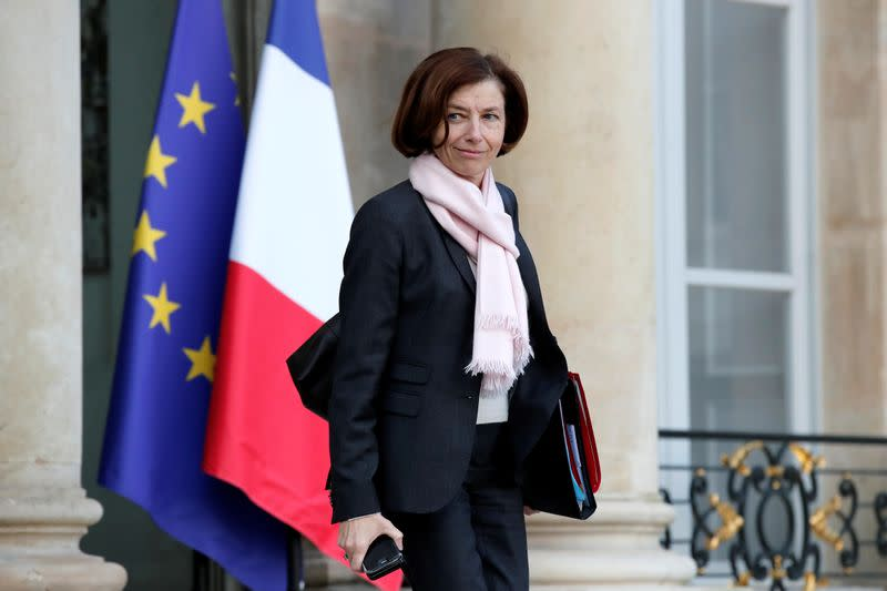 Amid fears U.S. will pull troops from Africa, French minister heads to Washington