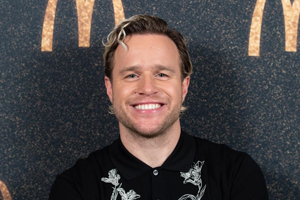 Olly Murs is worried about is knee (Photo by Dave J Hogan/Getty Images)