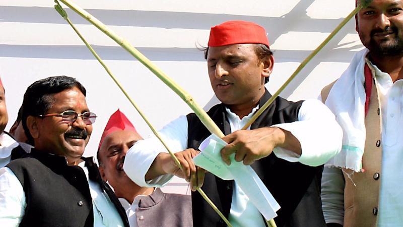 BJP Moves EC Over UP CM Akhilesh Yadav's Remark On Bribing Voters