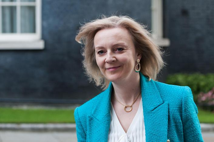 """Truss declined to give any examples as she warned against states that don't have """"Britain's best interests at heart."""" Photo: Wiktor Szymanowicz/Barcroft Media via Getty"""