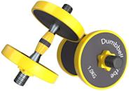 <p>If you're looking for an adjustable dumbbell set, give the <span>Joychoic: Dumbbell Set</span> ($16) a try.</p>