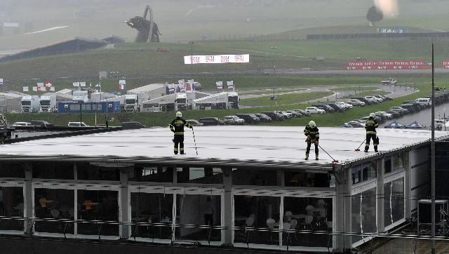 Formula 1 2020: Styrian GP's final practice session washed out due to torrential rain
