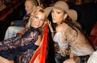 <p>Look, she's even serving hats by osmosis! Any excuse for a good J.Lo photo; this is from the 2001 MTV Video Music Awards, but it could just as easily be from last year's.</p>