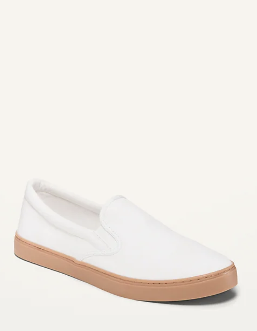 Canvas Slip-On Sneakers for Women- Old Navy