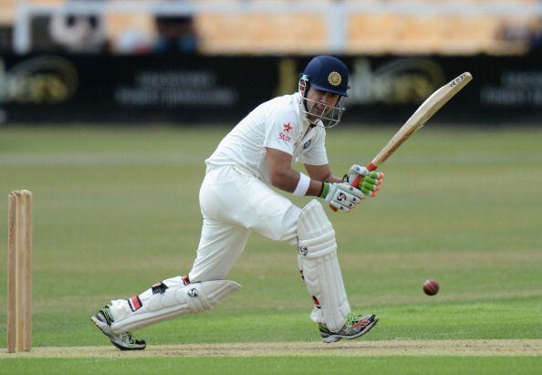Gambhir was a picture of determination while batting