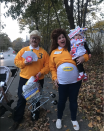 """<p>In this nostalgic family costume, mom Christie Breen's belly takes center stage as a Butterball turkey. </p><p><strong>Get more at <a href=""""https://www.instagram.com/thebreenbean/"""" rel=""""nofollow noopener"""" target=""""_blank"""" data-ylk=""""slk:@thebreenbean"""" class=""""link rapid-noclick-resp"""">@thebreenbean</a>.</strong></p>"""