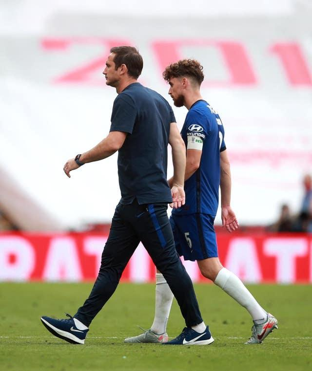 Lampard led his club to the final of the FA Cup in 2020, but the team were defeated 2-1 by Arsenal