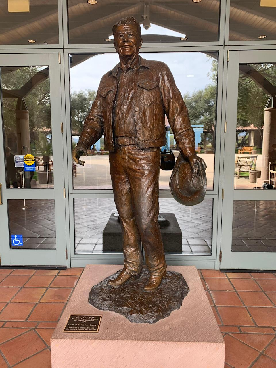 The museum at the Ronald Reagan Presidential Library in Simi Valley, Calif., is scheduled to reopen to the public May 26.
